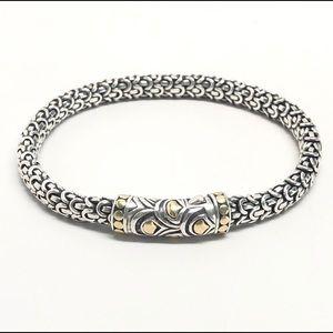 John Hardy NAGA Legends Bracelet 925/18K